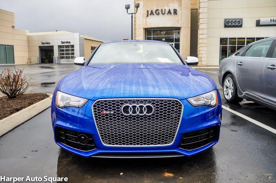 The Audi RS Got Blue Harper Porsche Audi Jaguar - Harper audi