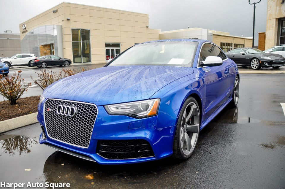 The Audi RS Got Blue Harper Porsche Audi Jaguar - Harper audi knoxville tn